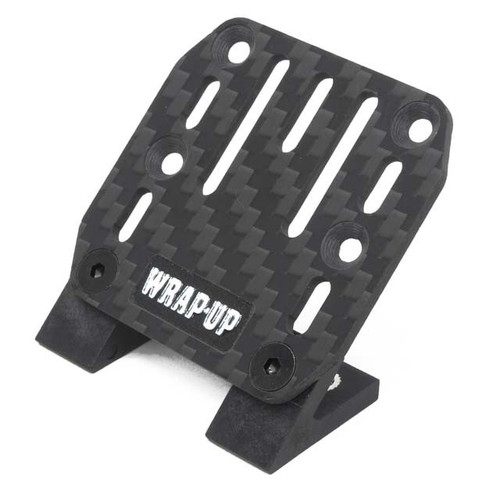 Wrap Up-Next 0458-FD CARBON ESC PLATE/SLASH MOUNT SET