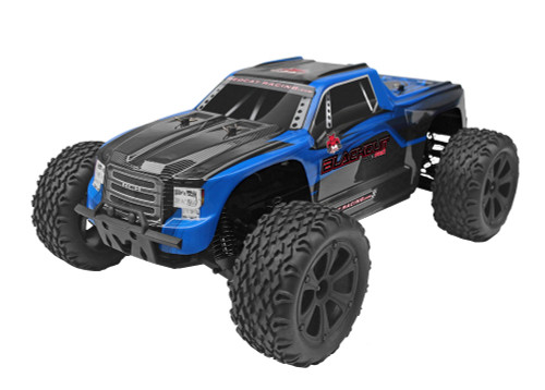 Recat Racing Blackout XTE PRO Brushless 1/10 Scale Electric Monster Truck Blue