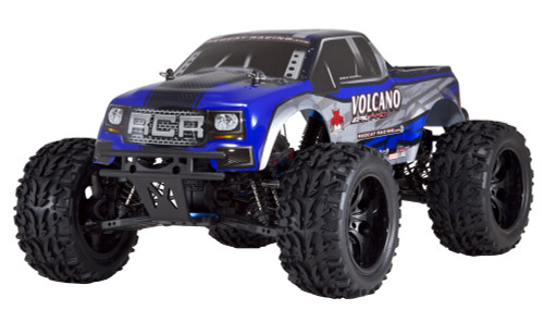 Recat Racing Volcano EPX PRO 1/10 Scale Brushless Truck Blue/Silver