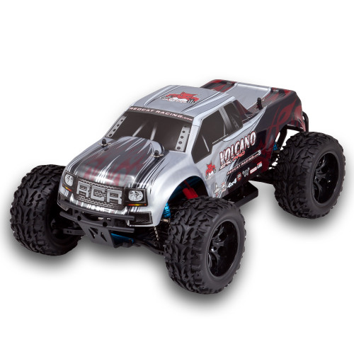 Recat Racing Volcano EPX PRO 1/10 Scale Brushless Truck Silver/Black/Red