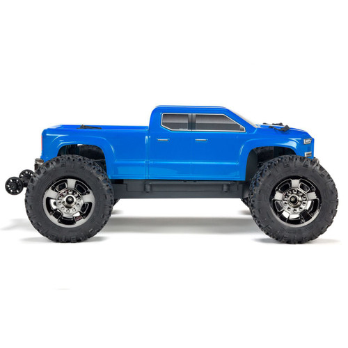 Arrma 1/10 Big Rock Crew Cab 4X4 3S BLX 4WD MT (Blue)