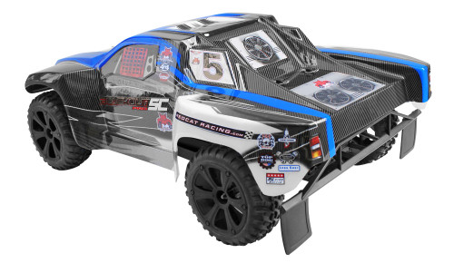 Blackout SC PRO Brushless 1/10 Scale Electric Short Course Truck Blue