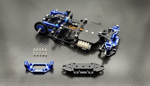 GL Racing GLR-011 Alu.Front Lower Arms For GLR