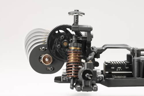 Yokomo YD-2 REAR MOTOR CONVERSION KIT (Y2-RMC)