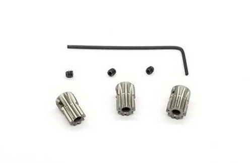 GL Racing GLR-063-SET Alu hard coated 64 pitch pinion set (9,10 & 11T included)