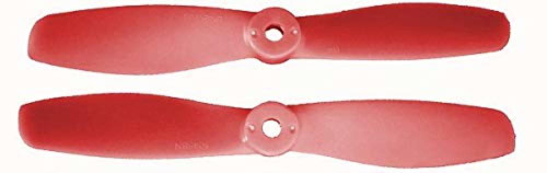Gemfan Glass Filled Nylon 2 Blade Propellers Bullnose Red 5045