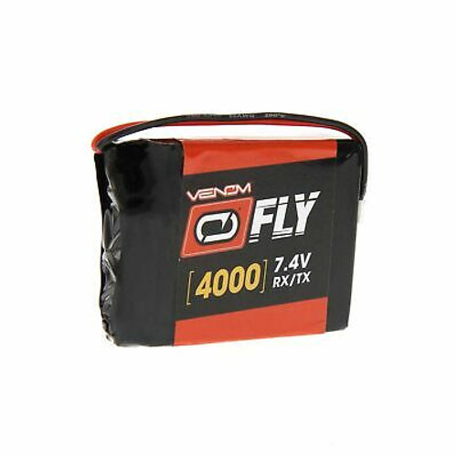 Venom 4000mAh 2s 7.4v LiPo Transmitter Battery for DX9, DX7S and Gen 1 DX8 Transmitters