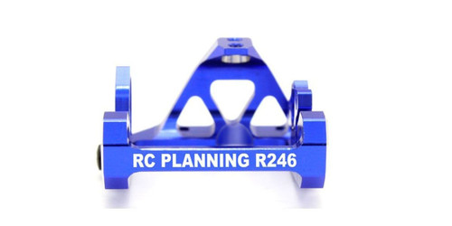 Kyosho R246-1355 MM One Piece Aluminum Motor Mount (MR-03) Blue