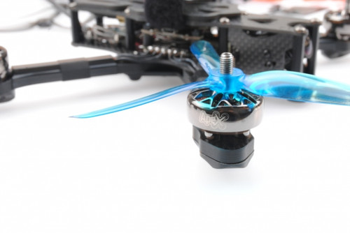 HQ Freestyle Prop  5X4.3X3V2S Blue  (2CW+2CCW)-Poly Carbonate