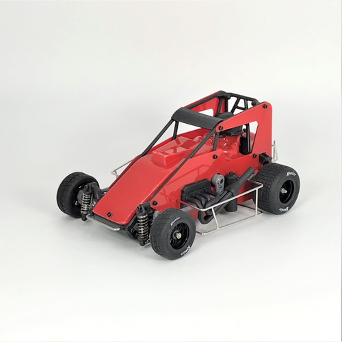 1RC Racing 1/18 Midget 2.0, Red, RTR