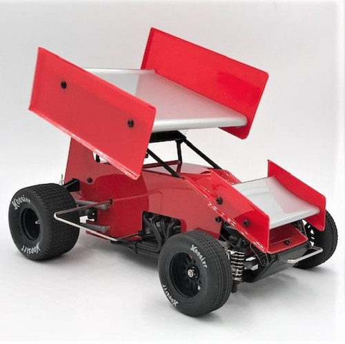1RC Racing 1/18 Sprint Car 2.0, Red, RTR