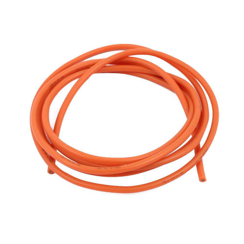 Silicone Wire 12 Gauge 1 Meter - Orange