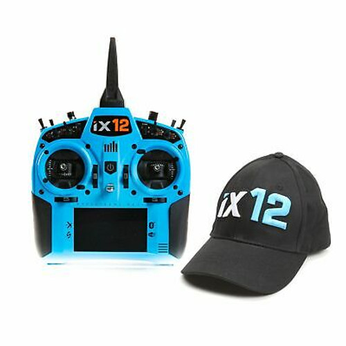 Spektrum iX12 12 Channel DSMX Transmitter Only Light Blue
