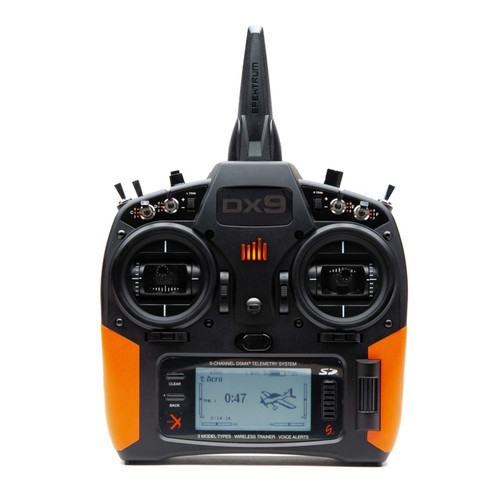 Spektrum Orange Grip Set with Tape for DX9