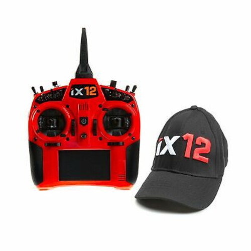 Spektrum iX12 12 Channel DSMX Transmitter Only Red