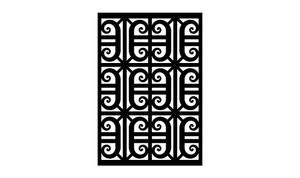 Gate Scroll Panel 4