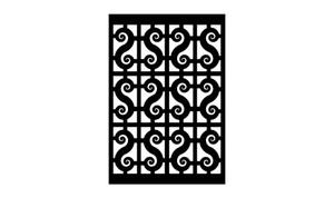 Gate Scroll Panel 7