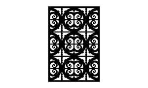 Gate Scroll Panel 9