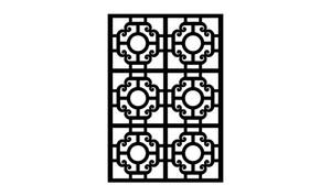 Gate Scroll Panel 15