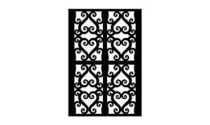 Gate Scroll Panel 17