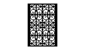 Gate Scroll Panel 25