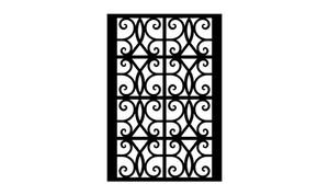 Gate Scroll Panel 26