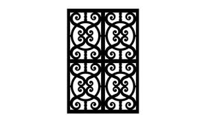 Gate Scroll Panel 28