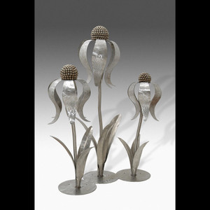 Impression of an Echinacea (Stainless Steel)