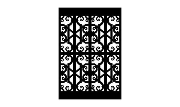 Gate Scroll Panel 1