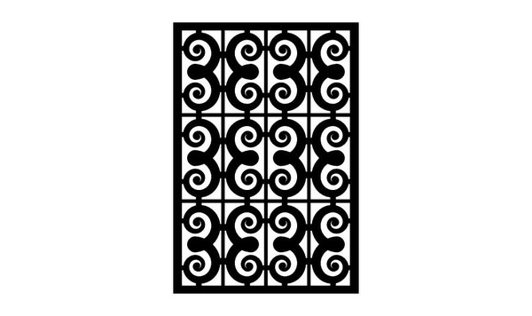 Gate Scroll Panel 8