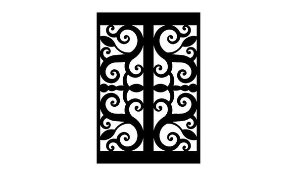 Gate Scroll Panel 2