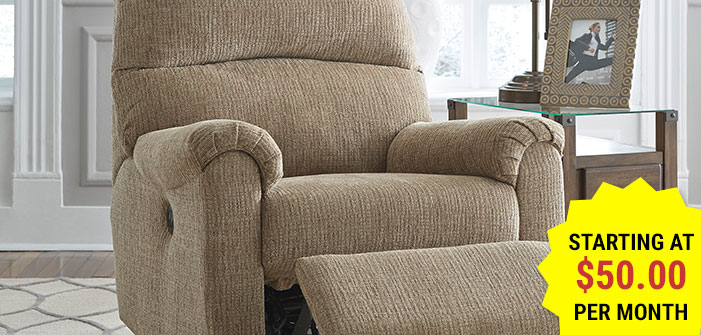 Click here to shop our selection of recliners & chairs.