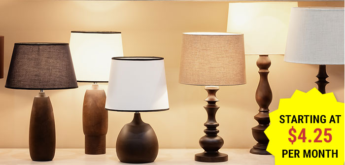 Click here to shop lamps.