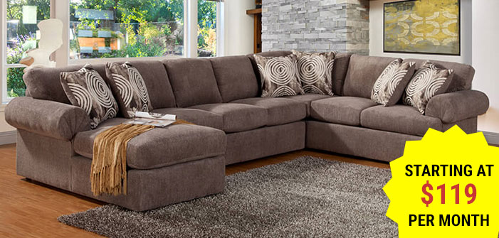 Click here to shop Sectionals.