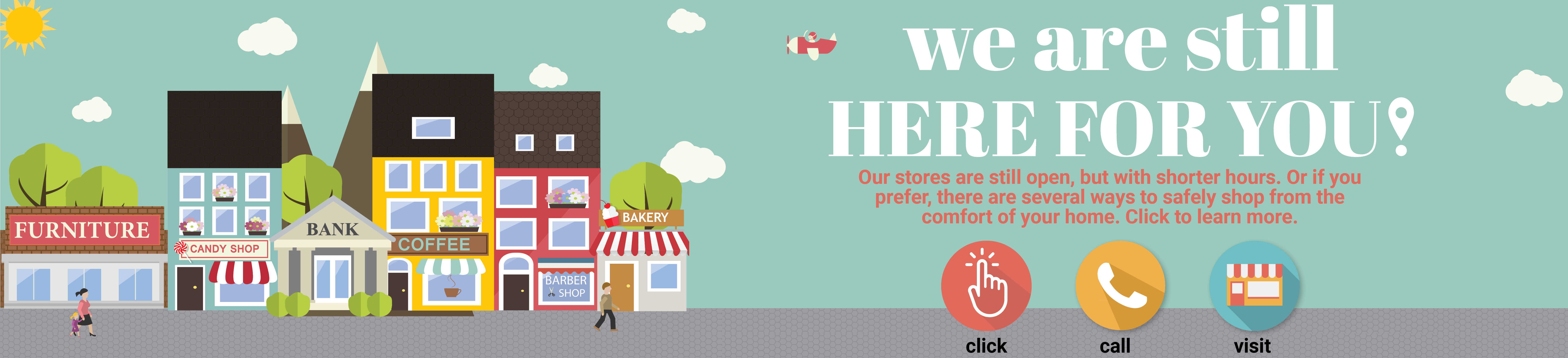 Learn more about our shopping options.