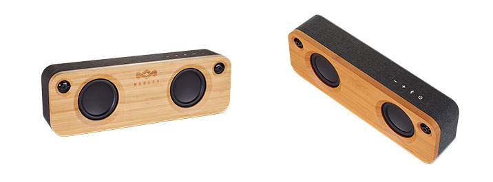 Different angles of the Marley Speaker.
