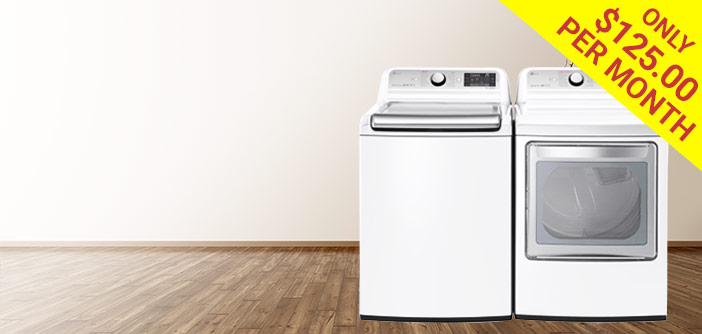 Learn more about our washer & dryer.