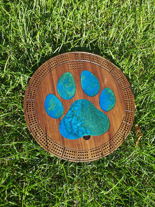 Paw Cribbage Board