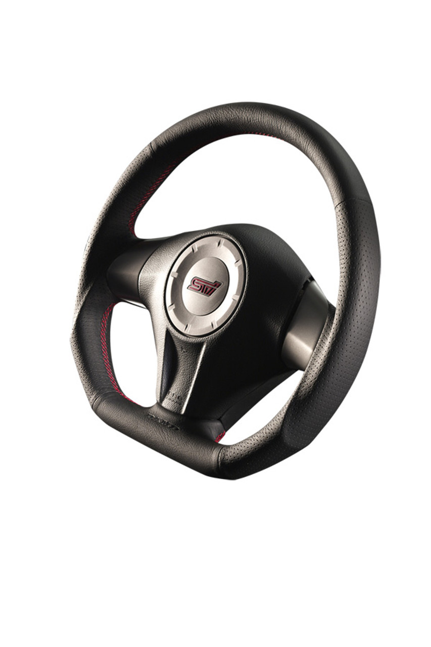 Damd Steering Wheel SS358D-F-1, Red Stitch at AVOJDM.com