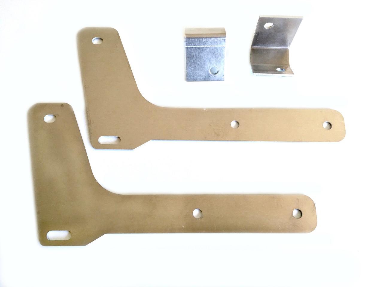 Brackets for STI front mudflap set for GDB at AVOJDM.com