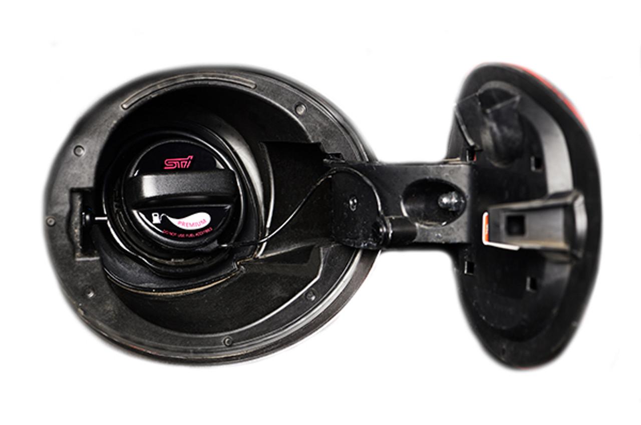STI Premium Fuel Cap Sticker Black Fitted STSG18100640 at AVOJDM.com
