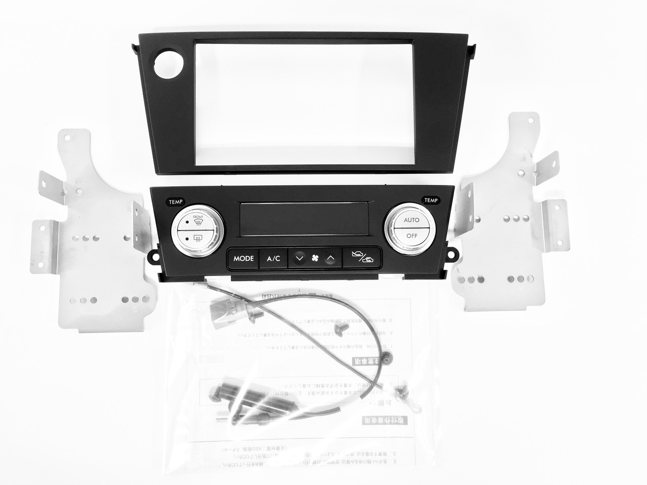 Subaru JDM H6217AG911 Dual Zone AV Panel Set contents at AVOJDM