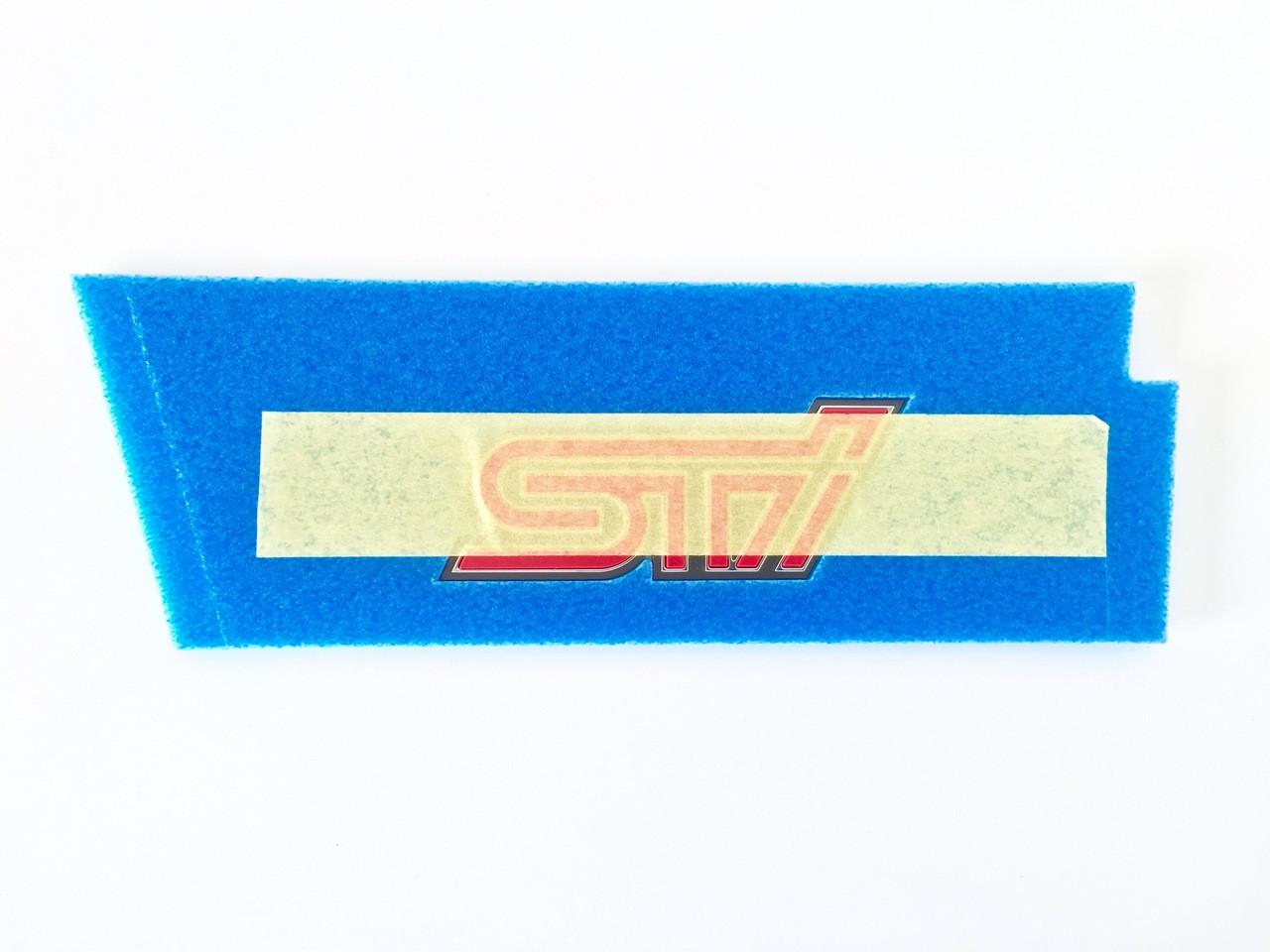 JDM STI Badge ST91053ZR130 at AVOJDM.com