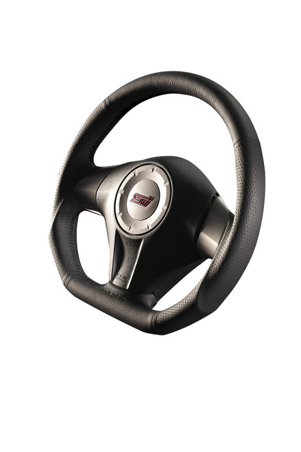 Damd Steering Wheel SS358D-F-2, Black Stitch at AVOJDM.com