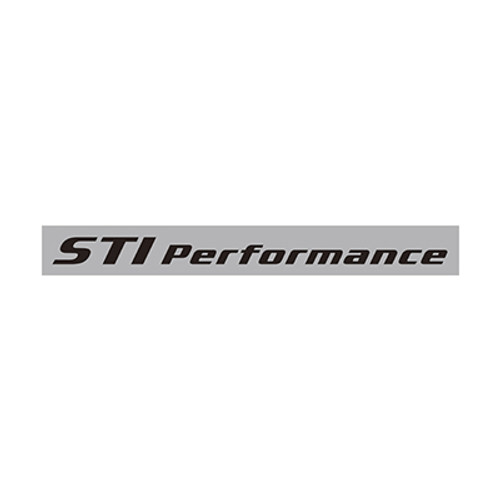 STI Performance Sticker STSG16100760 at AVOJDM.com