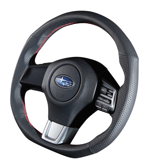 Damd Steering Wheel SS360-RX Red Stitch at AVOJDM.com