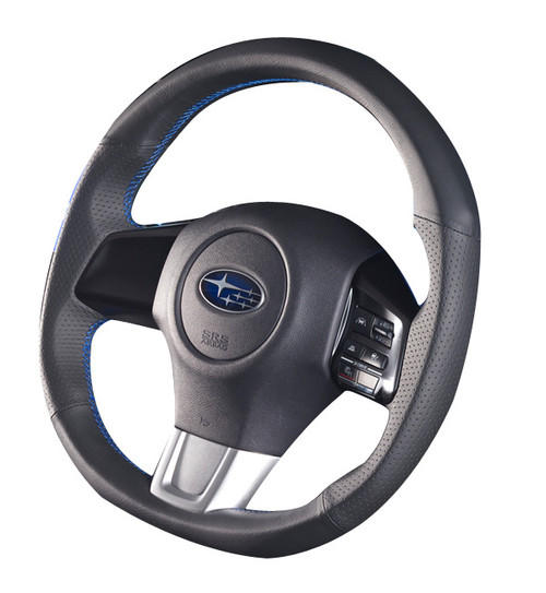 Damd Steering Wheel SS360-RX Blue Stitch at AVOJDM.com