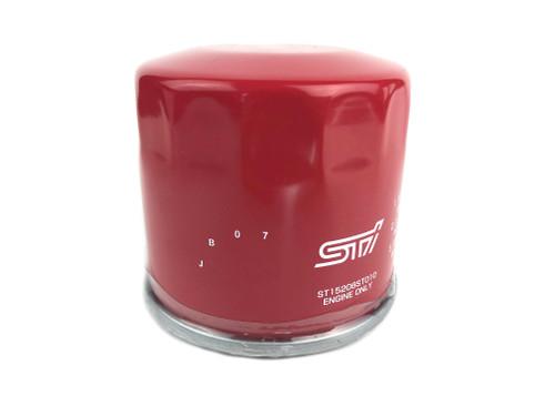 STI Performance Oil Filter Close up ST15208ST010 at AVOJDM.com