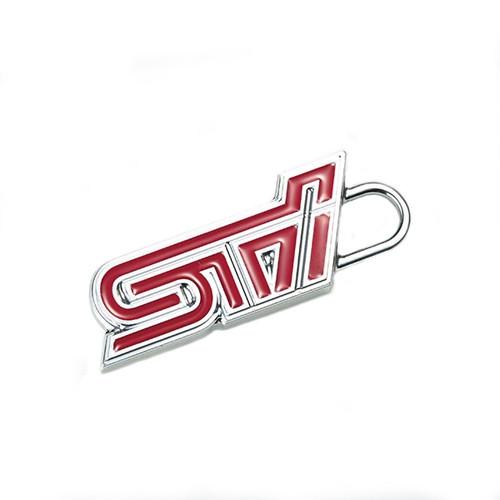 STSG18100550 STI Key Charm (STI Logo Cherry Red) front at AVOJDM.com
