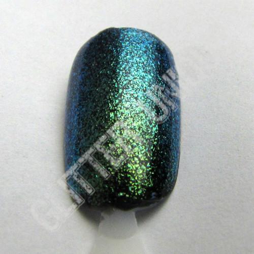 Blue-Green Color Shifting Pigment